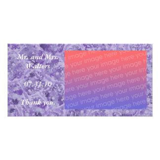 La photo de mariage vous remercient des cartes, po photocartes personnalisées