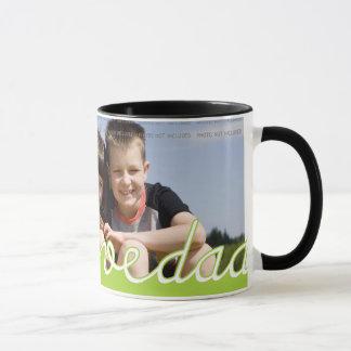 La photo personnalisée de fête des pères attaque | mugs