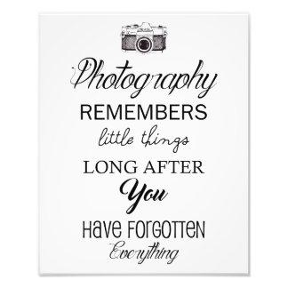 La photographie se rappelle la petite copie d'art