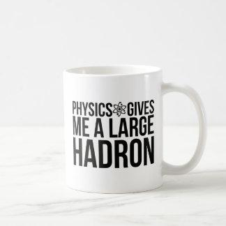 La physique me donne un grand Hadron Mug