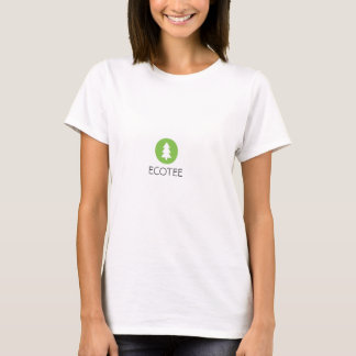 La pièce en t de la femme d'EcoTee T-shirt