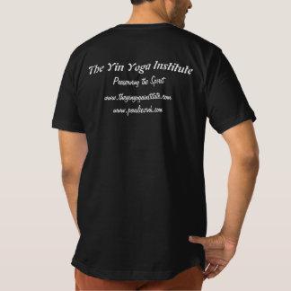 La pièce en t des hommes américains organiques t-shirt