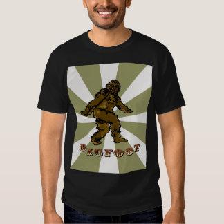 La pièce en t des hommes de Bigfoot T-shirt