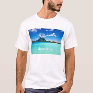 La pièce en t des hommes de Bora Bora T-shirt