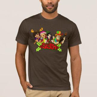 La pièce en t des hommes de Sealth de vacances T-shirt