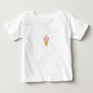 La pièce en t du bébé de bouquet de mariage t-shirts