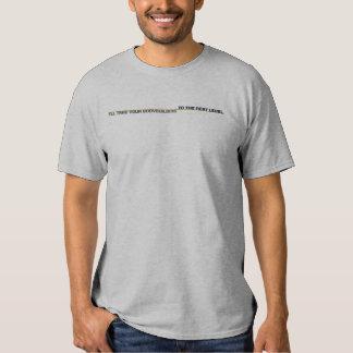 La PIÈCE EN T du PROCHAIN ENTRAÎNEUR DE NIVEAU, T-shirt
