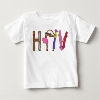 La pièce en t   LA HAVANE, CU (HAV) du bébé T-shirt Pour Bébé