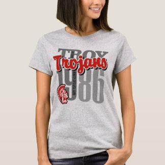 La pièce en t légère de 1986 femmes de troy de t-shirt