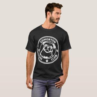 La pièce en t noire des hommes t-shirt