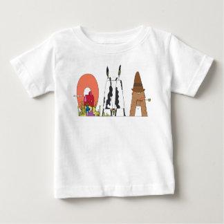 La pièce en t   OMAHA, Ne (OMA) du bébé T-shirt Pour Bébé