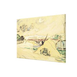 La pile de Sand, Bercy, 1905 Toiles