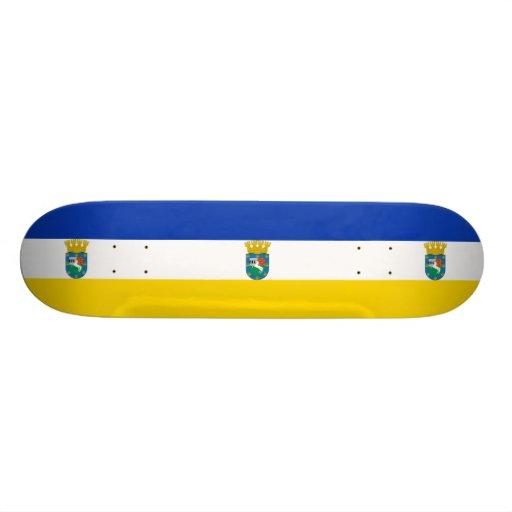 La Pintana, drapeau du Chili Planches À Roulettes