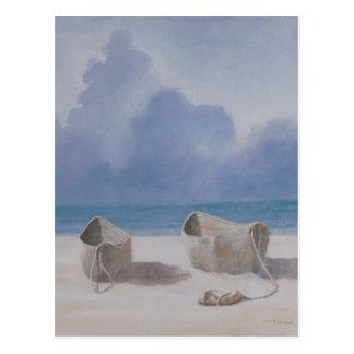 La pirogue Kilifi 2012 des pêcheurs Carte Postale