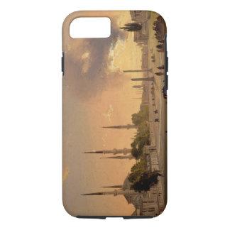 La piste à Constantinople (huile sur la toile) Coque iPhone 7