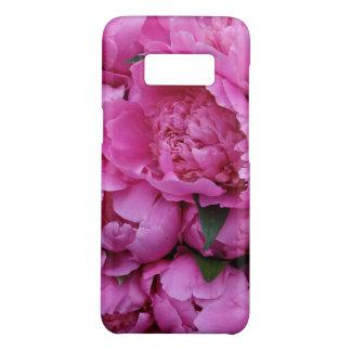 La pivoine rose luxuriante fleurit le motif floral coque Case-Mate samsung galaxy s8