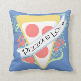 La pizza est amour coussin décoratif