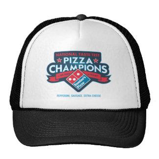 La pizza nationale soutient le chapeau de camionne casquette trucker