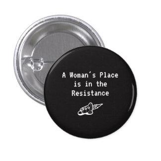 La place d'une femme est dans la résistance badges