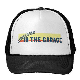La place d'une femme est dans le garage casquette de camionneur