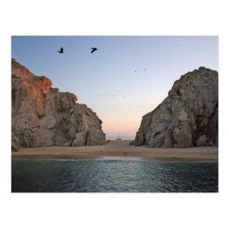 La plage de l'amant de Cabo San Lucas Mexique Carte Postale