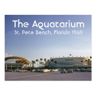 La plage de St Peter d'Aquatarium, carte postale