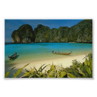"""La plage"" Thaïlande Posters"