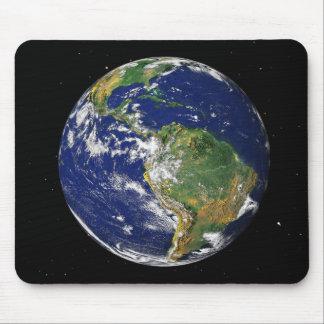 La pleine terre montrant l'Amérique du Sud 2 Tapis De Souris