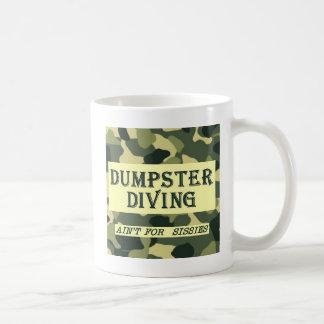 La plongée de décharge n'est pas pour des poules mug