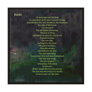 La pluie, art de concept par Gary se délectent