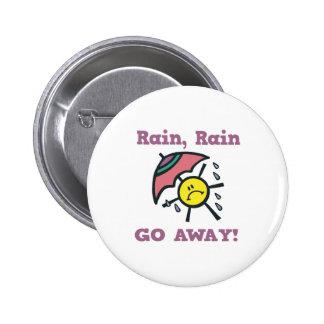 la pluie de pluie partent badge