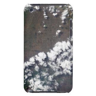 La plume se lève du volcan de Nyiragongo dans le Coques iPod Case-Mate
