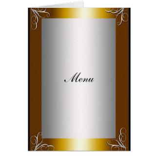 La plupart de menu populaire de mariage carte de vœux