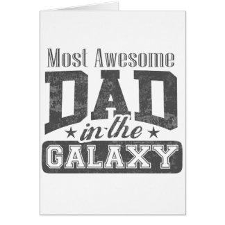 La plupart de papa impressionnant dans la galaxie cartes