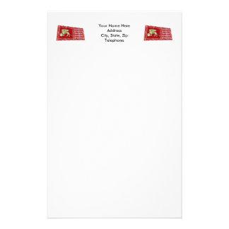 La plupart de République sereine de drapeau de Papier À Lettre Customisé