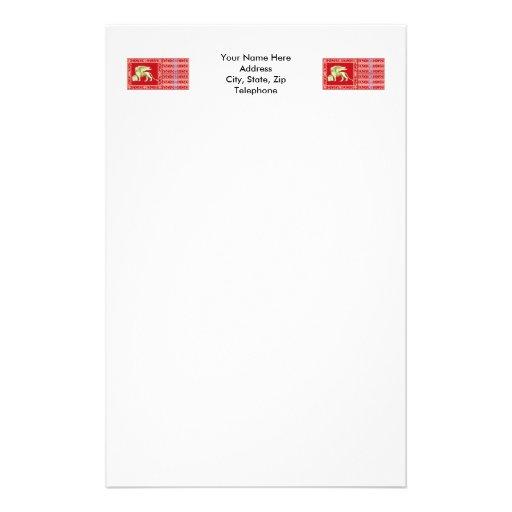 La plupart de République sereine de drapeau de Ven Papier À Lettre Personnalisé