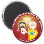 La plupart de trinité sainte magnets
