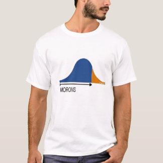 La plupart des personnes sont des débiles t-shirt