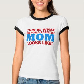 La plus grande chemise de maman des mondes t-shirt