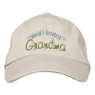 La plus grande grand-maman du monde casquette brodée