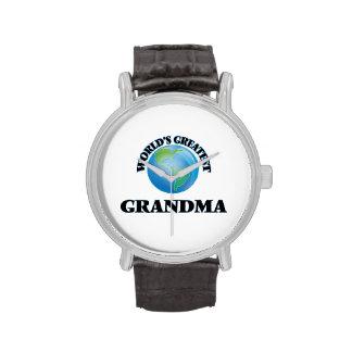 La plus grande grand-maman du monde montres bracelet