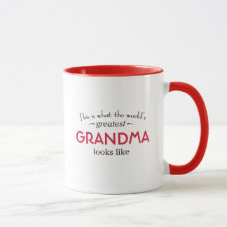 La plus grande grand-maman du monde mug