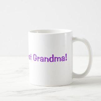 La plus grande grand-maman du monde ! mug blanc