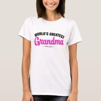 La plus grande grand-maman du monde puisque - t-shirt