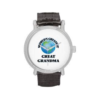 La plus grande grande grand-maman du monde montres