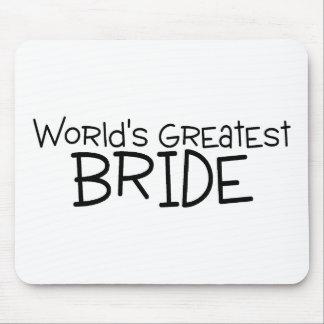 La plus grande jeune mariée des mondes tapis de souris