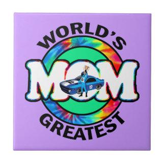 La plus grande maman de emballage du monde carreaux