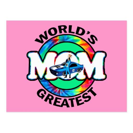 La plus grande maman de emballage du monde cartes postales