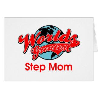 La plus grande maman de l'étape du monde cartes