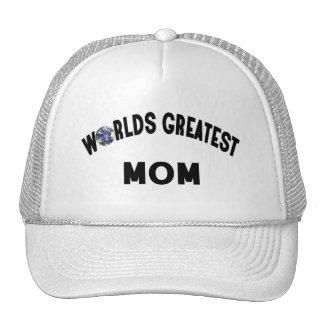 La plus grande maman des mondes casquettes de camionneur